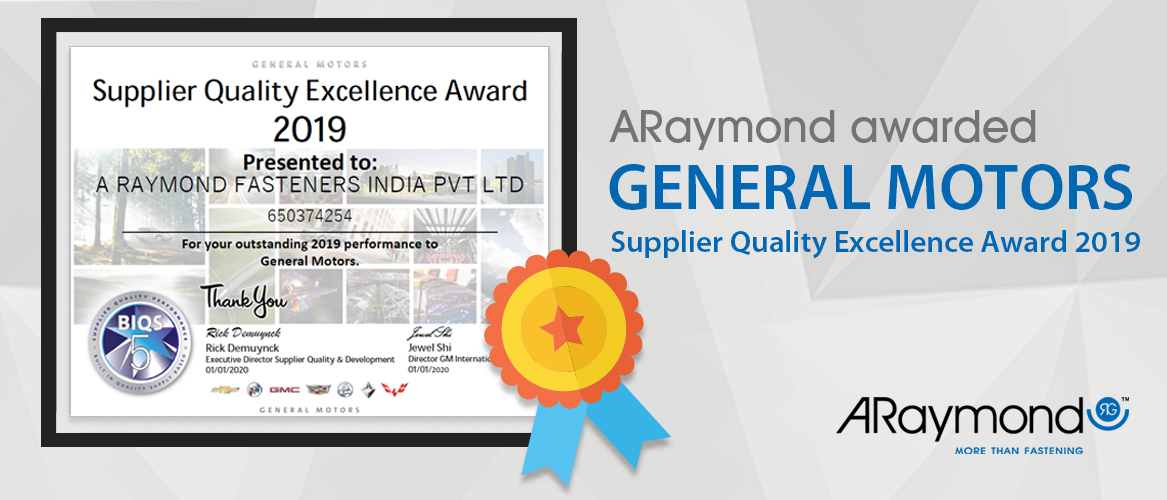 General Motors ARaymond Automotive Award