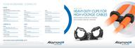 Heavy duty clips High-voltage cables - Booklet (EN)